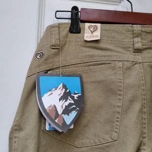 KUHL Womens Canvas pants size 8